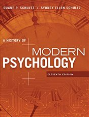 History of Modern Psychology  11E - SCHULTZ, DUANE P.