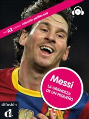 Perfiles Pop (Graded Readers About Pop Stars and Sports Celebrities): Messi - Book + CD - Carrasco, Jaime Rodríguez