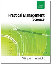 Practical Management Science 4e - Winston, Wayne L.