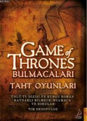 Game of Thrones Bulmacaları - Dedopulos, Tim