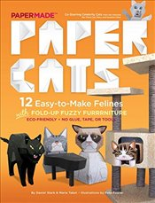 Paper Cats : 12 Easy to Make Cats - Papermade,