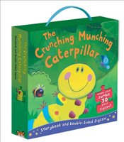 Crunching Munching Caterpillar: Storybook and Double-Sided Jigsaw - Cain, Sheridan