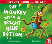Monkey with a Bright Blue Bottom (Book & CD) (Picture Book and CD Set) - Smallman, Steve
