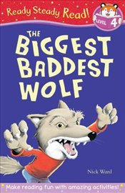 Biggest Baddest Wolf (Ready Steady Read) - Ward, Nick