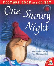 One Snowy Night (Book & CD) - Butler, M. Christina