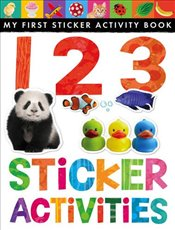 123 Sticker Activities (My First Sticker Activity Book) - Little Tiger Press