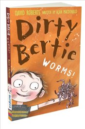 Worms! (Dirty Bertie) - Macdonald, Alan