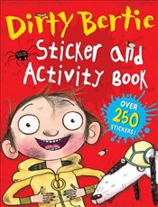 Dirty Bertie Sticker and Activity Book - Macdonald, Alan