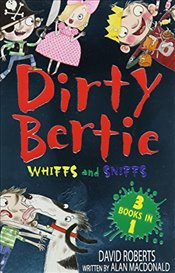 Whiffs and Sniffs: Crackers! Pong! Pirate! (Dirty Bertie) - Macdonald, Alan