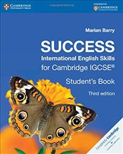 Success International English Skills for Cambridge IGCSE® Students Book (Cambridge International IG - Barry, Marian