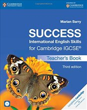 Success International English Skills for Cambridge IGCSE® Teachers Book with Audio CD (Cambridge In - Barry, Marian