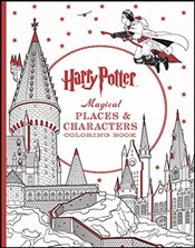 Harry Potter Magical Places & Characters Coloring Book -
