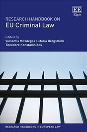 Research Handbook on EU Criminal Law (Research Handbooks in European Law Series) -