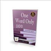 One Word Only: 100 Cloze Tests with a Detailed Answer Key - Kök, Çağlar