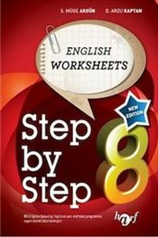 Step By Step 8 : English Worksheets  - Kaptan, Arzu D.
