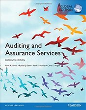 Auditing and Assurance Services 16e - Arens, Alvin A.