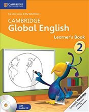 Cambridge Global English Stage 2 Learners Book with Audio CDs (2) (Cambridge International Examinat - Linse, Caroline