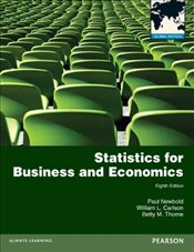 Statistics for Business and Economics 8e PGE with MyMathLab Global XL - Newbold, Paul