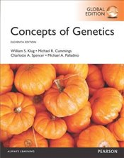 Concepts of Genetics with MasteringGenetics 11e PGE - Klug, William S.