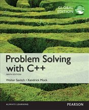 Problem Solving with C++ 9e PGE - Savitch, Walter
