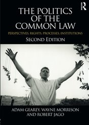 Politics of the Common Law : Perspectives, Rights, Processes, Institutions - Morrison, Wayne
