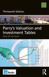 Parrys Valuation and Investment Tables - Davidson, Alick