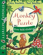 Monkey Puzzle Sticker Book - Donaldson, Julia