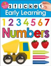 Numbers (Sticker Early Learning) - Priddy, Roger