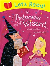 Lets Read! The Princess and the Wizard - Donaldson, Julia