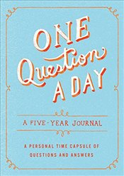 One Question a Day : A Five-Year Journal - Caner, Hannah