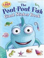 Pout-Pout Fish Giant Sticker Book (Pout-Pout Fish Adventure) - Diesen, Deborah