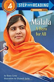 Malala: A Hero for All (Step into Reading) - Corey, Shana