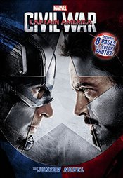 Marvels Captain America: Civil War: The Junior Novel - Marvel,
