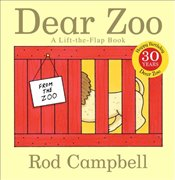 Dear Zoo: A Lift-The-Flap Book - Campbell, Rod