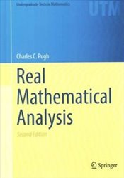 Real Mathematical Analysis 2E - Pugh, Charles C.