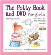 Potty Book and DVD for Girls Starring Hannah! Gift Set [With NTSC DVD] - Capucilli, Alyssa Satin