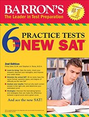 Barrons 6 Practice Tests for the New SAT 2e - Wolf, Ira K.