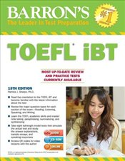 TOEFL IBT 15e  with CD and MP3 Audio - Sharpe, Pam