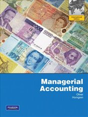 Managerial Accounting - Oliver, M. Suzanne