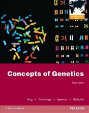 Concepts of Genetics Plus MasteringGenetics with Etext -- Access Card Package (International Edition - Klug, William S.