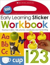 Early Learning Sticker Workbook - Scholastic,