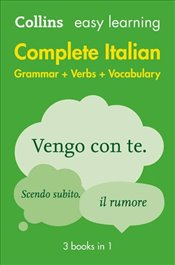 Easy Learning Complete Italian -