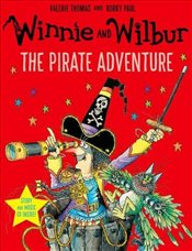 Winnie and Wilbur : The Pirate Adventure (Paperback & CD) - Thomas, Valerie
