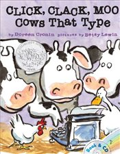 Click, Clack, Moo : Cows That Type [With CD (Audio)] - Cronin, Doreen