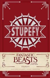 Fantastic Beasts and Where to Find Them : Stupefy Hardcover Ruled Journal : Insights Journals -