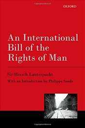 International Bill of the Rights of Man - Lauterpacht, Hersch