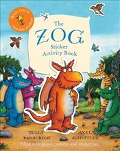 Zog Sticker Activity Book - Donaldson, Julia