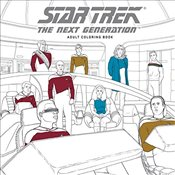 Star Trek : The Next Generation Adult Coloring Book - CBS,