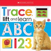 Trace, Lift, and Learn: ABC 123 (Scholastic Early Learners) - Inc., Scholastic