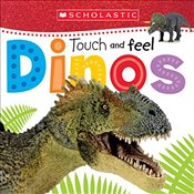 Touch and Feel Dinos (Scholastic Early Learners) - Scholastic,